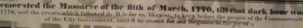 A bit of an old newspaper.