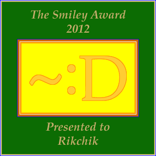 Smiley Award 2012