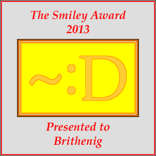 Smiley Award 2013