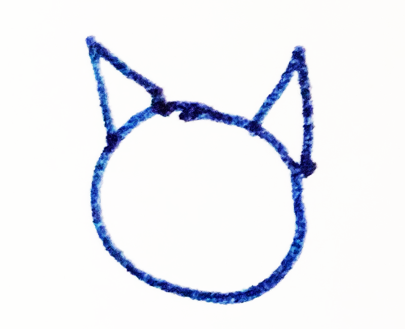 The Tapissary glyph for 'cat'.