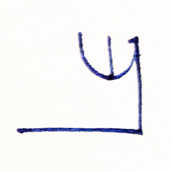 The Tapissary glyph for 'the' used with objects and entities that don't fit neatly into one category.
